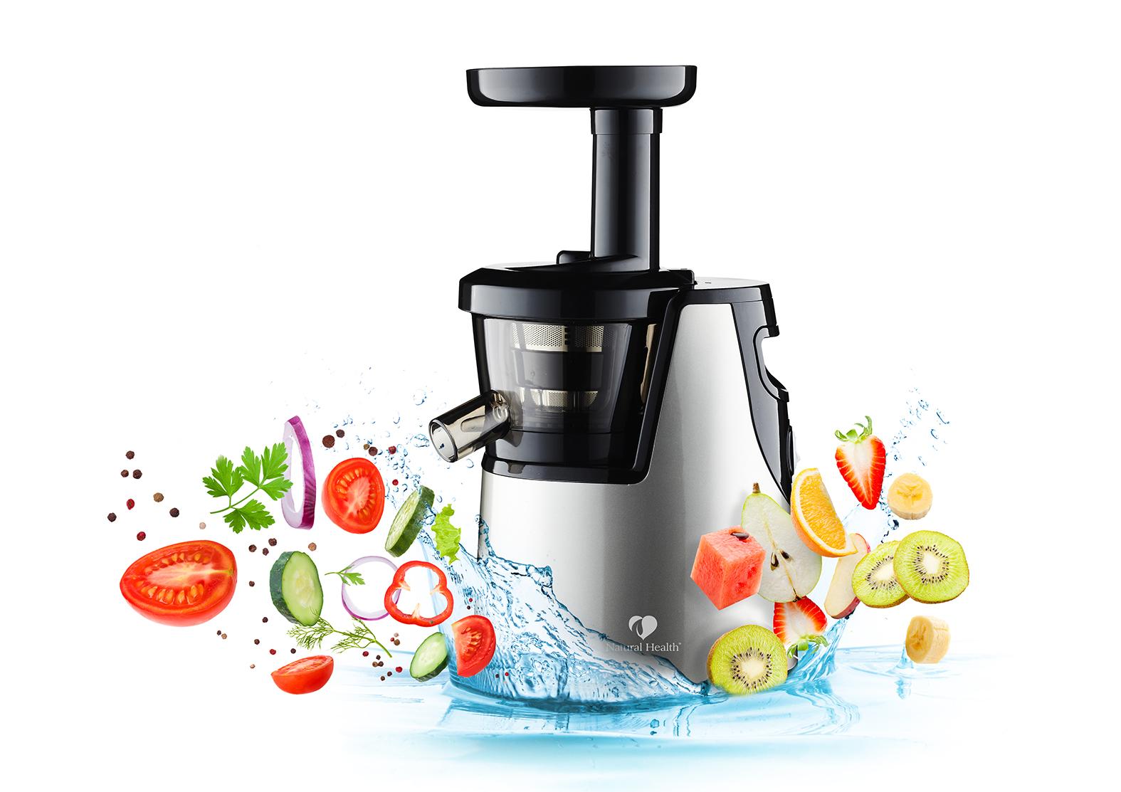 NutriPress Slow Juicer Natural Health